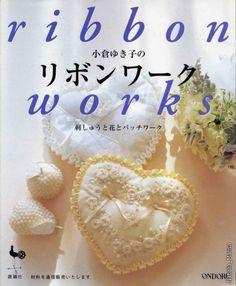 Revista Ribbon com lindos bordados em fitas