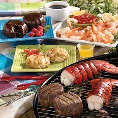 Shellfish & Steak Dinner for 2  Lobster Gram