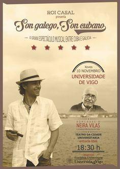 Concerto de Roi Casal, Son galego, Son Cubano Cuba, Musicals, Baseball Cards, Movies, Movie Posters, Concerts, Murals, Fiestas, Theater