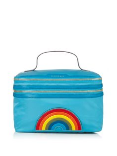 Vanity Kit Rainbow cosmetic case by Anya Hindmarch | Shop now at #MATCHESFASHION.COM