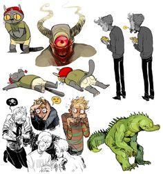 Kichaa - Character Design Page