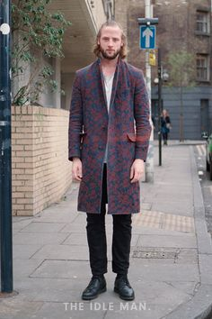 Men's Street Style - Play it up with Patterns