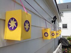 Great Lanterns for a Tangled themed party!