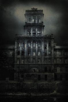 Haunted mansion by Yaroslav Gerzhedovich via Flickr