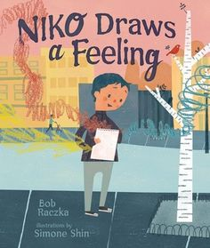 Niko Draws a Feeling by Bob Raczka Drawing Feelings, Online Books For Kids, Abstract Drawings, Got Books, Book Recommendations, Audio Books, Childrens Books, This Book, Author