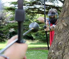 BowArrowTag.com is a new exhilarating, safe and family friendly combat archery adrenaline sport that can be played indoors (soft play venues, gyms and halls) or outdoors (fields, parks, woods or beaches). Players use short bows to shoot ultra-safe foam-tipped arrows at the opposing team members on the field. Think dodgeball, but with a …
