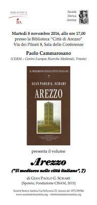 MedioEvo Weblog: Arezzo medievale, presentazione in Biblioteca