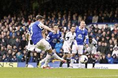 Leighton Baines cooly despatches the penalty