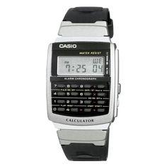 Casio Men's Calculator Watch - Black