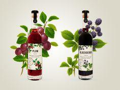 B&G Fruit Liqueurs by Jess Caddick