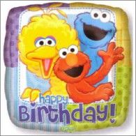 Our Happy Birthday Sesame Street Balloon features Big Bird, Cookie Monster and Elmo. This square Happy Birthday Sesame Street Balloon measures wide. Sesame Street Party Supplies, Kids Party Supplies, Happy Birthday Balloons, Elmo Birthday, Birthday Ideas, Wholesale Balloons, Sesame Street Birthday, Mylar Balloons, Latex Balloons