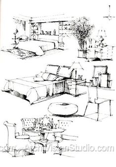 pen and ink drawings techniques
