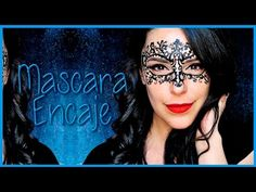 Lace mask face paint makeup tutorial | Silvia Quiros - YouTube