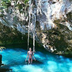 The beauty of this place🙌🏼🦋 #Tulum #Cenote #GranCenote #Nature  Não vejo a hora de colocar o Vlog dessa viagem no ar!!! Registrando toda a minha experiência aqui em Tulum pra vocês!!!