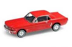 Модель винтажной машины «Ford mustang 1964» Welly