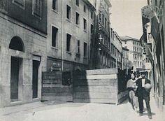 Via del Solitario anni trenta