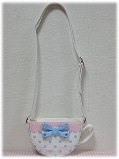 Angelic Pretty / Bags & Wallets / Wonder Cup Pochette Bag