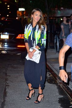 Jessica Alba out in New York City -03