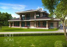 Готовый проект кирпично-монолитного дома