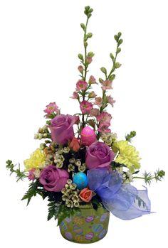 spring floral arrangements | Spring Flowers, Easter arrangements are here! Pugh's Flowers