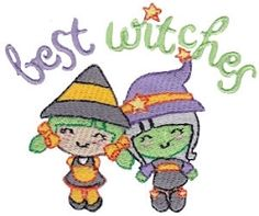 Sassy Halloween 12 - 2 Sizes! | Halloween | Machine Embroidery Designs | SWAKembroidery.com Bunnycup Embroidery