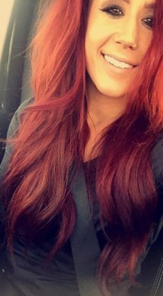 Which Teen Mom Wears Red Hair Best Chelsea Maci Or Jenelle PHOTOS