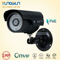 New 720P 48v poe IP Camera  CCTV 36leds infrared Bullet Metal Waterproof Outdoor Security Network Onvif P2P Surveillance Camera #Affiliate