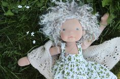 """A walk through the woods- Outfit for 20"""" doll"""