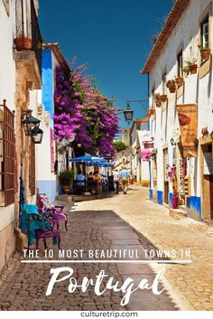 You're traveling to Portugal and are not sure which cities to visit? Check this guide and discover the 10 most beautiful towns of Portugal Europe Travel Tips, European Travel, Places To Travel, Places To See, Travel Destinations, Portugal Vacation, Portugal Travel Guide, Portugal Trip, Marvao Portugal
