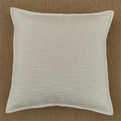 Natural Margo Feather Pillow Cover from Split P. Feather Pillows, Natural Home Decor, Home Goods, Home Improvement, Pillow Covers, Throw Pillows, Pillow Case Dresses, Toss Pillows, Pillow Shams