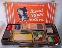 70's magic box & also one of these every Christmas