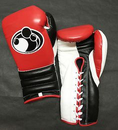 Grant #boxing - 14 oz pro lace up training #gloves (red/black/white) - #(authenti,  View more on the LINK: 	http://www.zeppy.io/product/gb/2/272000383168/