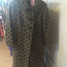 Black coat Long sleeve coat Jackets & Coats Pea Coats