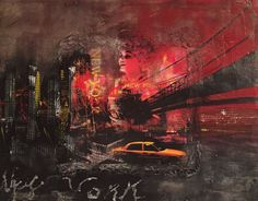 New York New York, Movies, Movie Posters, Painting, Art, Films, Art Background, New York City, Film Poster
