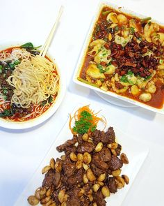 New favorite Szechuan/Tianjin spot in San Jose!  My order: golden garlic beef (SO tasty! ) fish fillet in hot chili sauce and  tan tan noodles. P.S. They have two locations on Landess Ave and De Anza Blvd. What's your go-to Szechuan restaurant?