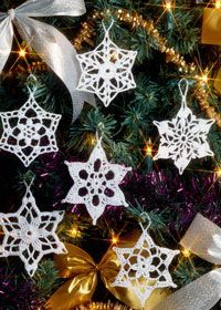 Christmas Snowflakes by Coats. Free PDF File, another lovely. Thanks for putting these delights up xox