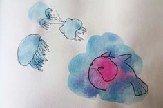 nube de medusas