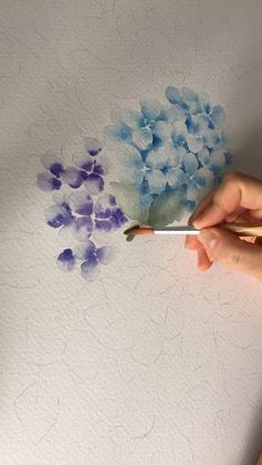 Canvas Painting Tutorials, Watercolor Painting Techniques, Watercolor Sketchbook, Watercolor Paintings, Watercolor Flowers Tutorial, Floral Watercolor, Watercolour, Poster Color Painting, Cool Art Drawings