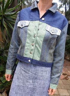 Sew Outside the Lines™ with Jody Pearl: Jigsaw Jackets - Intuitive Sewing