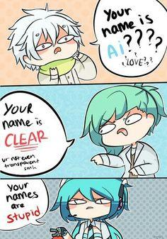 Dramatical Murder(Clear)_ Uta Pri(Ai)_ and Hatsune Miku
