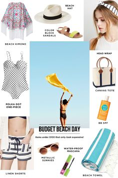 And It Only Cost Me: 11 Budget Beach Picks Under $80 #theeverygirl