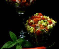 Sallad Shirazi|Recept på Sallad Shirazi|Sallad Shirazi med Dressing|Spring SalladHot287