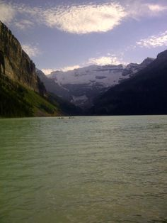 Lake Louise in Banff Alberta Banff Alberta, Earth, Mountains, World, Nature, Travel, The World, Voyage, Viajes
