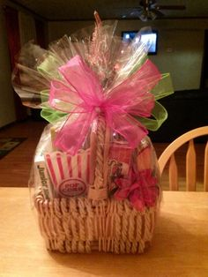 Gift Basket idea made by Tracey of GiftBasketAppeal.