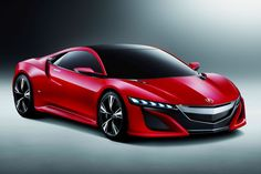 【北京モーターショー2012】こっちの方がカッコいい!? 真っ赤な「NSX」が登場 - Autoblog 日本版