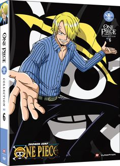 One Piece DVD Collection 6 (Hyb) (Eps 131-156) Uncut One Piece  #RightStuf2014.