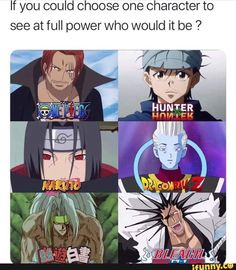 If you could choose one character to see at full power who would it be ? Anime One, Manga Anime, Anime Stuff, Anime Websites, Funny Dragon, Animes To Watch, Harry Potter, Latest Anime, Anime Crossover