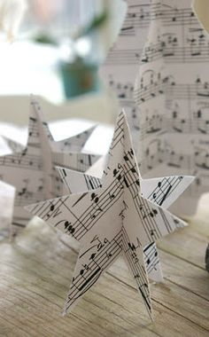 DIY paperstars