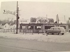 Whites Drive-In in the 1950's.