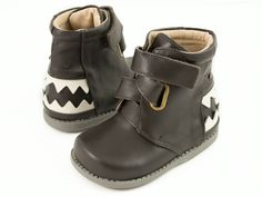 Livie and Luca Hungry Mocha Leather *Preorder* – Posh Closet Children's Boutique
